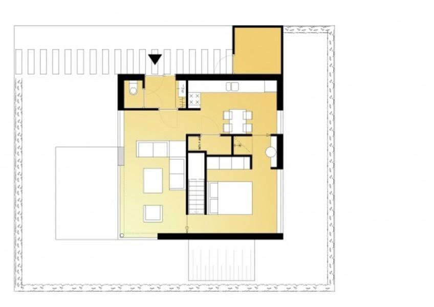 Huis 8x8 bald architecture bouwboek for Praktische indeling huis