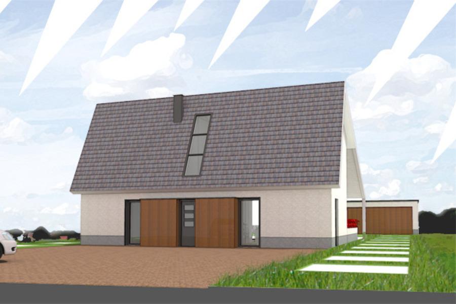 Passief huis studio d11 architecten bna bouwboek for Huis energieneutraal